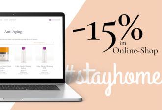 15% im Onlineshop